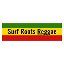 Surf Roots Reggae Bumper Bumper Sticker