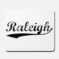 Vintage Raleigh (Black) Mousepad