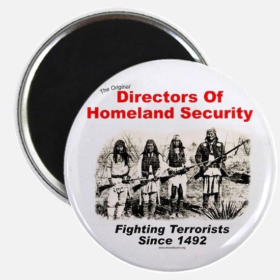 Homeland Security Since 1492 Magnet