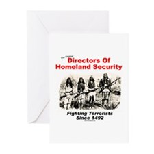 Homeland Security Since 1492 Greeting Cards (Packa