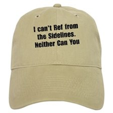 You Can't Ref Khaki Baseball Cap