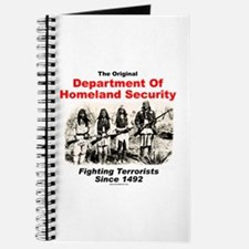 Dept. Of Homeland Security - Since 1492 Journal