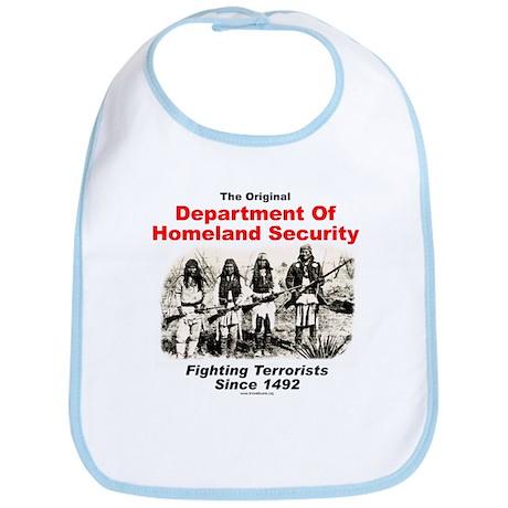 Dept. Of Homeland Security - Since 1492 Bib