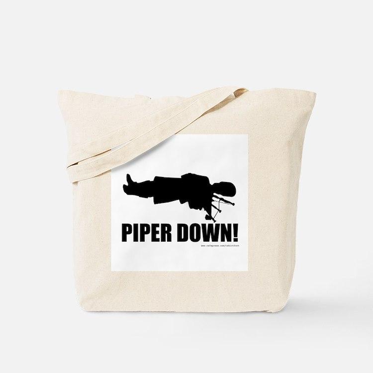 Bagpipe Wedding Tote Bag