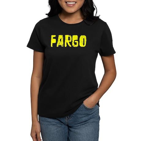 Fargo Faded (Gold) Women's Dark T-Shirt