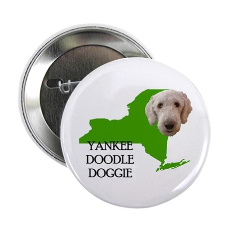 """New York Labradoodle 2.25"""" Button (100 pack)"""
