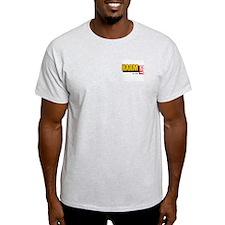 """Harm City """"410"""" Ash Grey T-Shirt"""