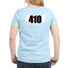 "Harm City ""410"" Women's Pink T-Shirt"