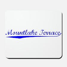 Vintage Mountlake .. (Blue) Mousepad