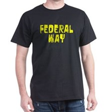 Federal Way Faded (Gold) T-Shirt