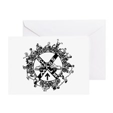 Critical Mass - Greeting Card