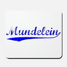 Vintage Mundelein (Blue) Mousepad