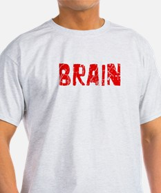 Brain Faded (Red) T-Shirt