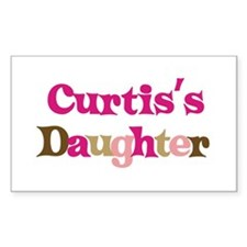 Curtis's Dad Rectangle Decal