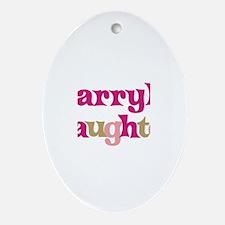 Darryl's Dad Oval Ornament