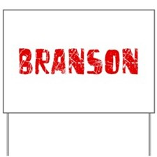 Branson Faded (Red) Yard Sign