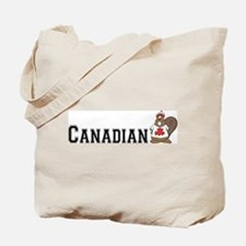 Canadian Beaver Tote Bag
