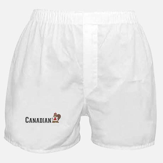 Canadian Beaver Boxer Shorts