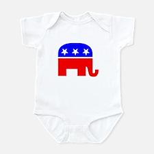 Republican Party Mascot infant bodysuit