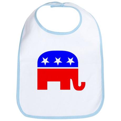 Republican Party Mascot bib