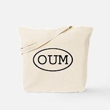 OUM Oval Tote Bag
