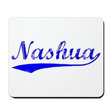 Vintage Nashua (Blue) Mousepad