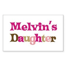 Melvin's Dad Rectangle Decal