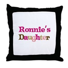 Ronnie's Dad Throw Pillow