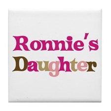 Ronnie's Dad Tile Coaster
