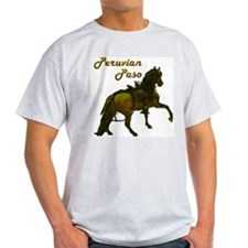 Peruvian Paso Ash Grey T-Shirt