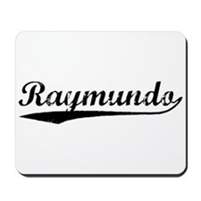 Vintage Raymundo (Black) Mousepad