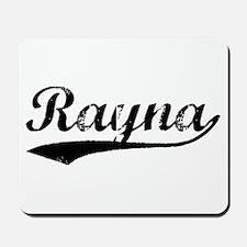 Vintage Rayna (Black) Mousepad