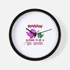 Rowan's Daughter Wall Clock