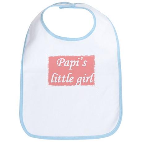 Papi's Little Girl Bib