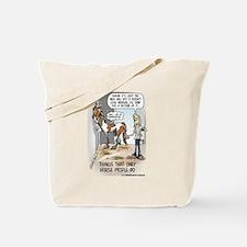 Poop Talk Tote Bag