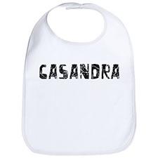 Casandra Faded (Black) Bib
