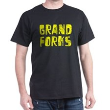 Grand Forks Faded (Gold) T-Shirt