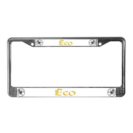 Leo License Plate Frame