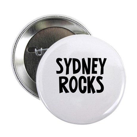 "Sydney Rocks 2.25"" Button"