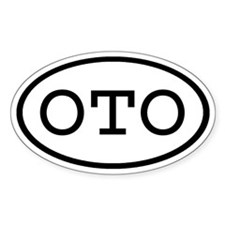 OTO Oval Oval Decal