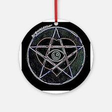 Hearts & Pentagrams Keepsake (Round)