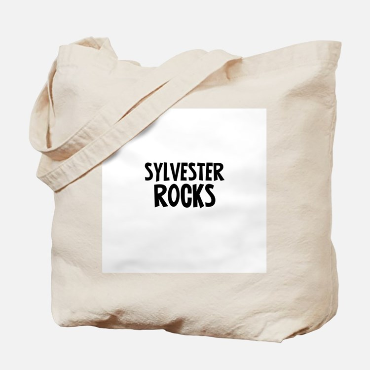Sylvester Rocks Tote Bag
