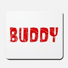 Buddy Faded (Red) Mousepad