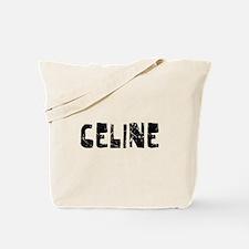 Celine Faded (Black) Tote Bag