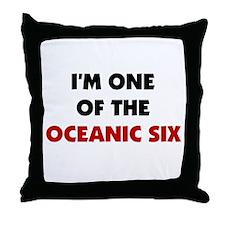 Oceanic Six Throw Pillow