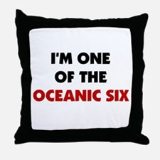 Oceanic Six Throw Pillow