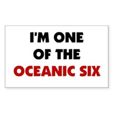 Oceanic Six Rectangle Decal