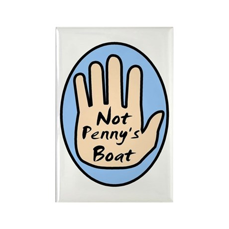 Not Penny's Boat Rectangle Magnet (10 pack)