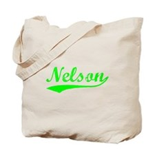Vintage Nelson (Green) Tote Bag