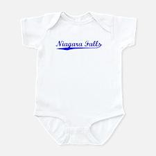 Vintage Niagara Fa.. (Blue) Infant Bodysuit